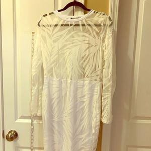 White dress some sheer.